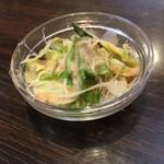 サンライズ - セットのサラダ