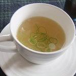 Satoyamakafetasaburousansou - ランチ:夕顔のスープ