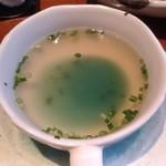 90770249 - スープは今ひとつ