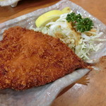 グルメ館 豊魚 - アジフライ