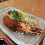 グルメ館 豊魚 - エビフライ