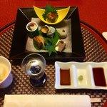 青山やまと - 料理写真:前菜