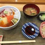丸喜寿司 - ランチ、昼ちらし膳1,280円