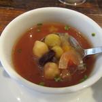 リトルネストカフェ - ランチスープ