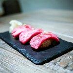 代官山焼肉 kintan - ☆黒毛和牛握り