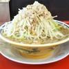 豚男 -BUTAMEN- - 料理写真:小ラーメン150g 野菜多め、ニンニク無、脂多め 730円
