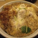 かつや - カツ丼(松、918円)