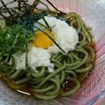 回転寿司 力丸 神戸垂水店 - とろろ茶そば250円
