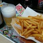 回転寿司 力丸 神戸垂水店 - ノンアルビール350円&ポテトフライ200円
