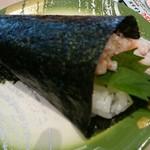 回転寿司 力丸 神戸垂水店 - 梅と山芋150円