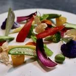 ファイ - いろいろ野菜のバーニャカウダ