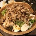 90781077 - 肉ソン鶏だし豆腐サラダ