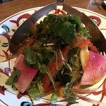 串焼旬菜食堂 うっとり - 季節野菜サラダ