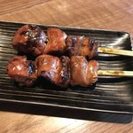 串焼旬菜食堂 うっとり - 白レバー(タレ)