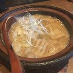 串焼旬菜食堂 うっとり - 味噌モツ煮込み