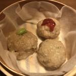 串焼旬菜食堂 うっとり - 野菜蒸し小籠包