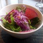 チャコールグリルケヤキ - サラダ