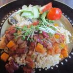 90787681 - 野菜のチリトマト煮ごはん