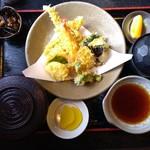 八代郡 - 穴子天ぷら定食 1500円