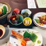 奥利根温泉ホテルサンバード - 料理写真: