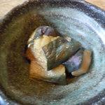麺料理 ひら川 - 小鉢(茄子)