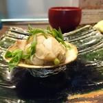 地鶏割烹 稲垣 - 焼き蛤