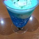 サーティワンアイスクリーム - ドリンク写真:ポッピングソーダ♪