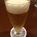 サンギュリエ - 乾杯の生ビール