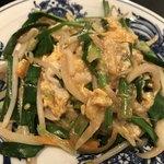 オトメ - ニラ玉野菜炒め