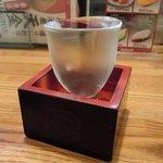 90797041 - 居酒屋 天金 「日本酒(男山生もと)」
