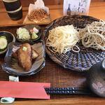 蕎麦切り かぎ谷 - 料理写真:二色盛り蕎麦
