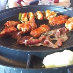 90798531 - 1807_SSIKKEK Korean BBQ -食客- Sunter_Buffet(Adult)@169,900Rp チーズフォンデュも出来る!