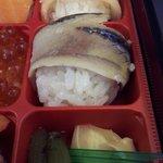 908917 - 蟹、秋刀魚、蕗の煮物、ガリ