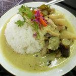 タイ料理ファンディー - グリーンカレー(許可を得て転載)