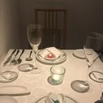 リストランティーノ ルベロ - 2階のテーブル