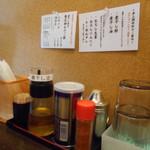 煮干し中華そば つきじ大河原 -