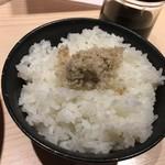 YAMACHAN - わさび飯セットd(^_、^o)+¥150円・:*+.:+