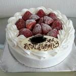 ラ・ブランシュ - いちごのショートケーキ