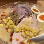 麺屋M - 料理写真:渡り蟹とトウモロコシの冷やしそば