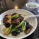香蘭 - パイコー飯800円です。 ザクザクとトロトロの間に起こる奇跡を味わってみて下さい。