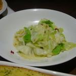 ニユー・トーキヨー ビヤホール - キャベツの塩辛炒め580円