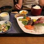 魚料理 一心 - 上刺身定食  1750円