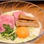 紅 - 冷やし枝豆豆乳らーめん 1000円 豆乳と枝豆がニンニクパワーでドッキング♪