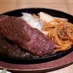 長屋ステーキ - 牛ロースステーキ