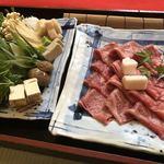 ひろ文 - すき焼きコース♪ 8.000円/人