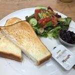 コラソンカフェ - 厚切りトーストプレート