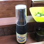 いしぐふー - 2018年8月11日  オリオンビール(瓶)490円