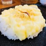 ガラク - 炙りチーズ(+110円)をライスオン!