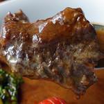 ビガラード - 牛すじデミ赤ワイン煮込みランチ