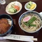 岩宿庵 - 料理写真:ソースかつ丼